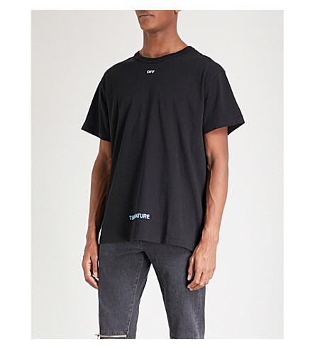 OFF-WHITE C/O VIRGIL ABLOH 温棉衫 t恤衫 (黑 + 白