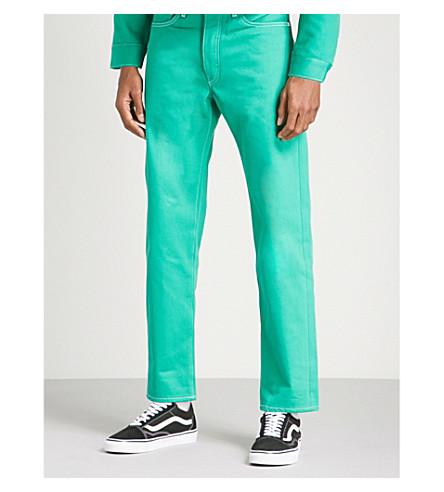 OFF-WHITE C/O VIRGIL ABLOH Off-White c/o Virgil Abloh x Levi's regular-fit jeans (Green