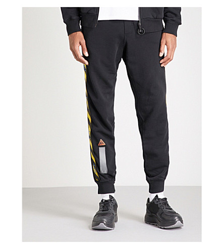 OFF-WHITE C/O VIRGIL ABLOH Branded jogging bottoms (Black