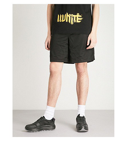 OFF-WHITE C/O VIRGIL ABLOH Lamyland mesh shorts (Black