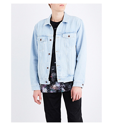 OFF-WHITE C/O VIRGIL ABLOH Angel denim jacket (Bleach
