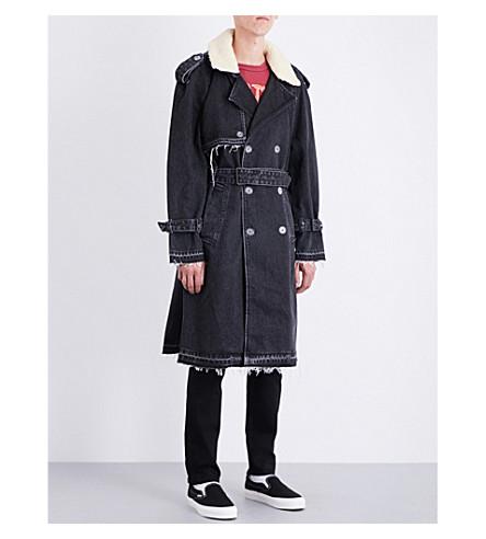 OFF-WHITE C/O VIRGIL ABLOH Not Real leather jacket (Black