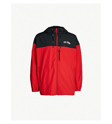 OFF-WHITE C/O VIRGIL ABLOH Windbreaker shell jacket (Red