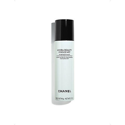 CHANEL HYDRA BEAUTY ESSENCE MIST Hydration Protection Radiance Energising Mist