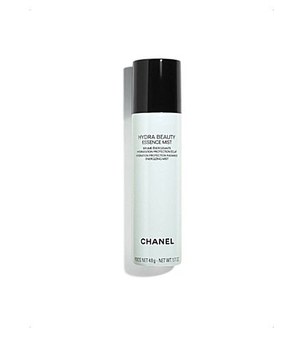 CHANEL <strong>HYDRA BEAUTY ESSENCE MIST</strong> Hydration Protection Radiance Energising Mist