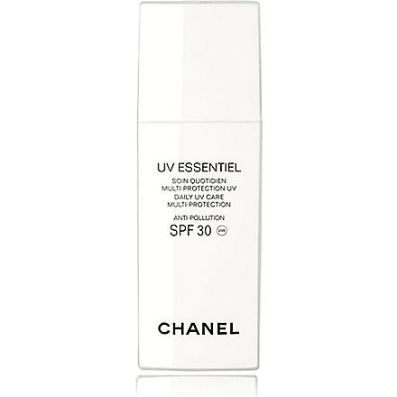 CHANEL UV ESSENTIEL Complete Sunscreen UV Protection Anti-Pollution Broad Spectrum SPF 30