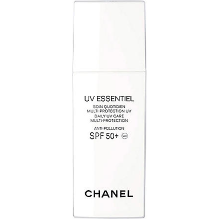 CHANEL UV ESSENTIEL Complete Sunscreen UV Protection Anti-Pollution Broad Spectrum SPF 50
