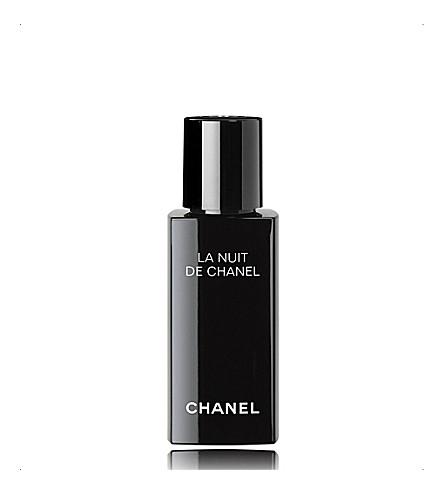 CHANEL <strong>LA NUIT DE CHANEL RECHARGE</strong> Evening Recharging Face Care