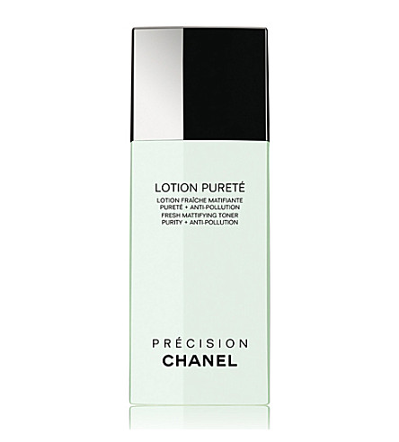 CHANEL <strong>LOTION PURET&Eacute; </strong>Fresh Mattifying Toner Purity + Anti&ndash;Pollution