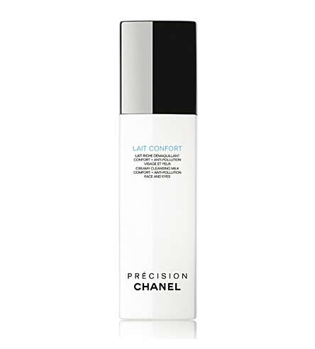 CHANEL <strong>牛奶安慰</strong> 洁肤奶舒适 + Anti–Pollution 脸和眼睛