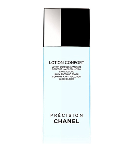 CHANEL <strong>LOTION CONFORT</strong> Silky Soothing Toner Comfort + Anti&ndash;Pollution Alcohol Free