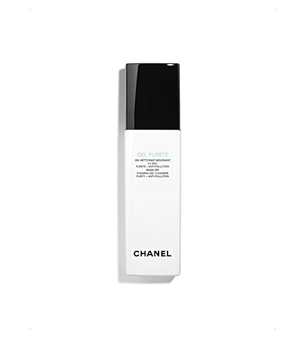CHANEL <strong>GEL PURETÉ </strong>Rinse–Off Foaming Gel Cleanser Purity + Anti–Pollution