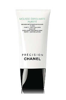 CHANEL MOUSSE EXFOLIANTE PURETÉ Rinse–Off Exfoliating Cleansing Foam Purity + Anti–Pollution