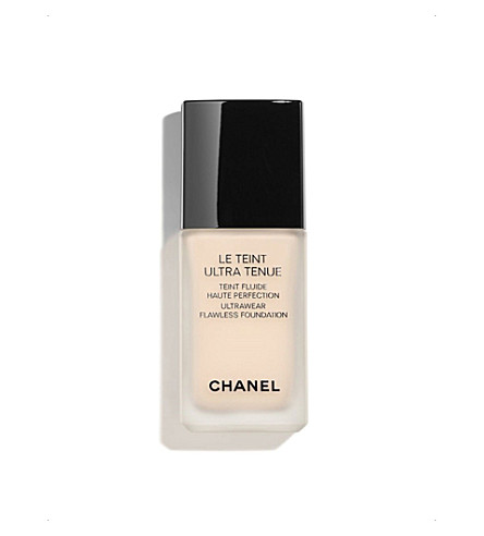 CHANEL <strong>LE TEINT ULTRA TENUE</strong> Ultrawear Flawless Foundation Beige Rosé 12 (Beige+rose+12