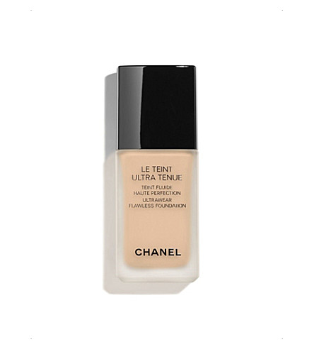 CHANEL <strong>LE TEINT ULTRA TENUE</strong> Ultrawear Flawless Foundation Beige 60 (Beige+60
