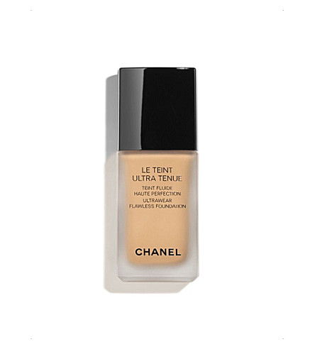 CHANEL <strong>LE TEINT ULTRA TENUE</strong> Ultrawear Flawless Foundation Caramel 91 (Caramel+91