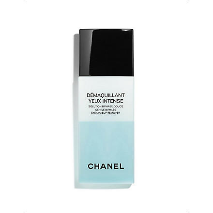 CHANEL DÉMAQUILLANT YEUX INTENSE Gentle Bi–phase Eye Make–Up Remover