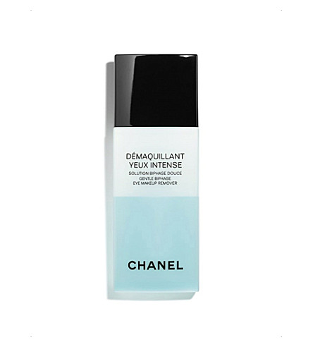CHANEL <strong>DÉMAQUILLANT YEUX 强烈</strong>柔和 Bi–phase 眼睛 Make–Up 卸妆