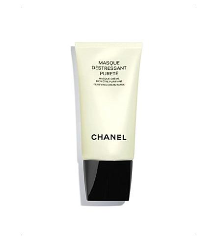 CHANEL <strong>MASQUE DÉSTRESSANT PURETÉ </strong>Purifying Cream Mask