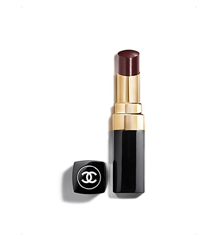 CHANEL <strong>ROUGE COCO SHINE</strong>Hydrating colour lipshine (Noir+moderne