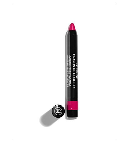 CHANEL <strong>LE ROUGE CRAYON DE COULEUR</strong>Jumbo Lipwear Lip Crayon (Framboise