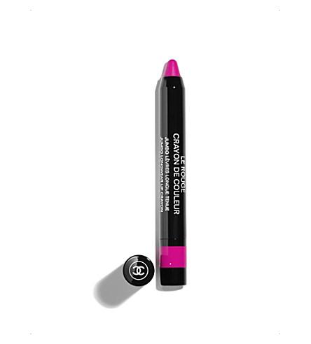 CHANEL <strong>LE ROUGE CRAYON DE COULEUR</strong>Jumbo Lipwear Lip Crayon (Fuschia