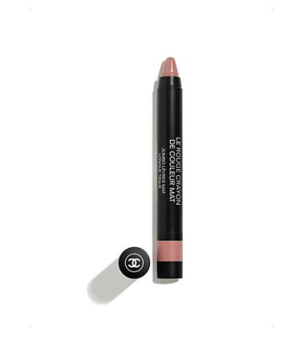 CHANEL <strong>LE ROUGE CRAYON DE COULEUR MAT</strong> Jumbo Longwear Matte Lip Crayon 1.2g (Discretion