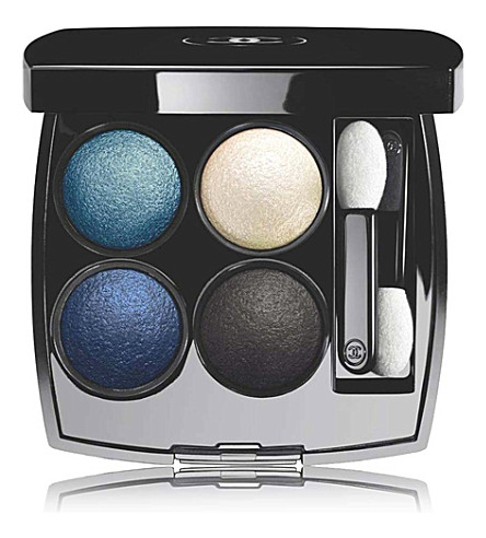 CHANEL <strong>LES 4 OMBRES</strong> Quadra Eye Shadow (Tisse+jazz