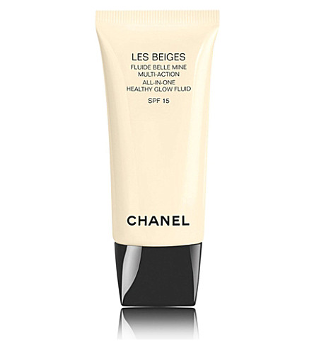 CHANEL <strong>LES BEIGES</strong> All-In-One Healthy Glow Fluid SPF 15 (10