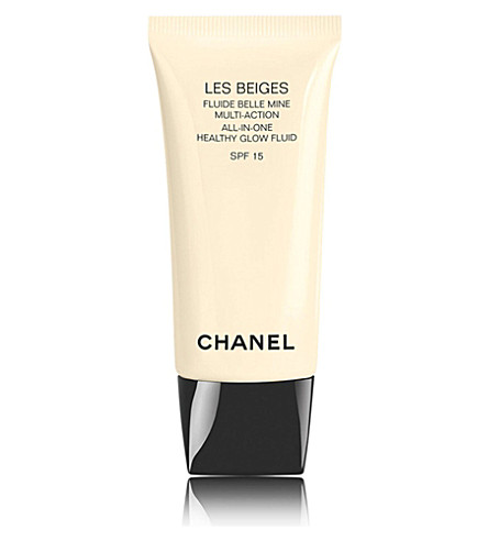 CHANEL <strong>LES BEIGES</strong> All-In-One Healthy Glow Fluid SPF 15 (40
