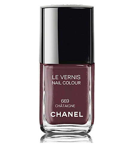 CHANEL <strong>LE VERNIS</strong> Nail Colour (669+chataigne