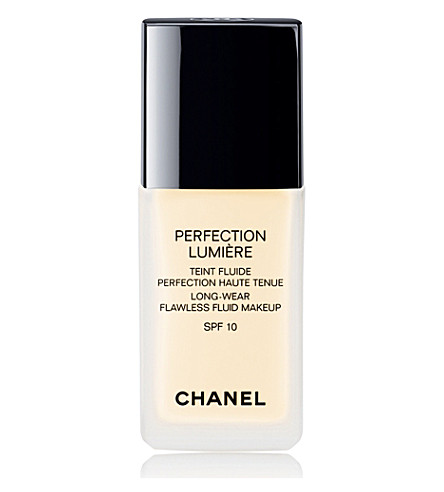 CHANEL <strong>PERFECTION LUMIÈRE</strong> Long–Wear Flawless Fluid Make-up SPF 10 (Beige+10