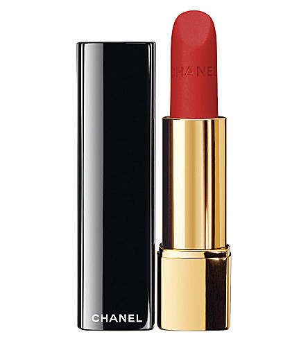 CHANEL <strong>ROUGE ALLURE VELVET</strong> Luminous Matte Lip Colour (Rouge+charnel