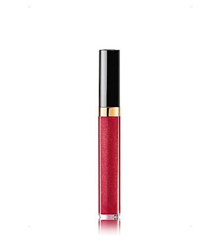 CHANEL <strong>ROUGE COCO GLOSS</strong> Moisturising Glossimer (Amarena