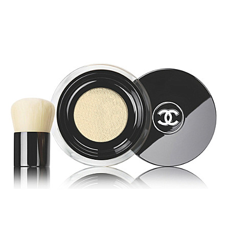 CHANEL <strong>VITALUMIÈRE</strong> Loose Powder Foundation With Mini Kabuki Brush SPF 15 (Beige+10
