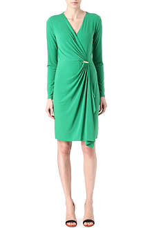 MICHAEL KORS Stretch-jersey wrap dress