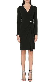 MICHAEL MICHAEL KORS Wrap-effect dress