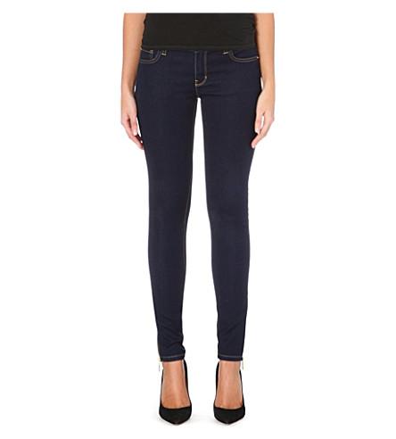 MICHAEL MICHAEL KORS Skinny mid-rise jeans (Twilight wash