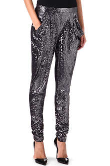 MICHAEL KORS Sequined tapered trousers