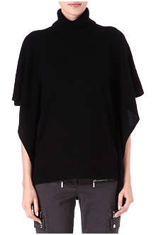MICHAEL KORS Cape-sleeved turtleneck jumper