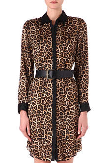 MICHAEL KORS Leopard-print shirt dress