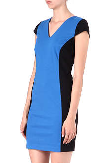 MICHAEL KORS Bicolour bodycon dress