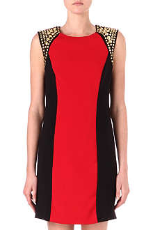 MICHAEL KORS Studded-shoulder dress