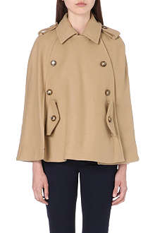 MICHAEL KORS Pea coat cape