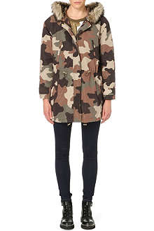MICHAEL MICHAEL KORS Oversized camouflage-print parka