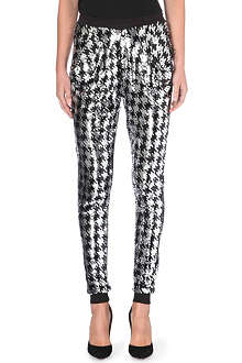 MICHAEL MICHAEL KORS Sequinned houndstooth trousers