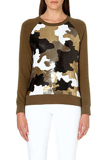 MICHAEL KORS Sequin-embellished jumper