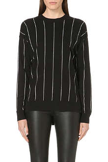 MICHAEL MICHAEL KORS Pin-striped knitted jumper