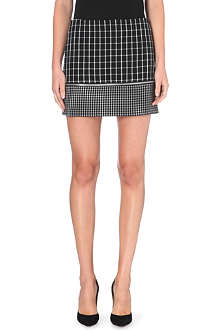 MICHAEL KORS Mini geometric-print skirt