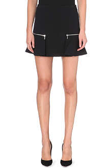MICHAEL KORS Pleat-detail mini skirt